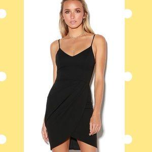 Lulus mini black dress